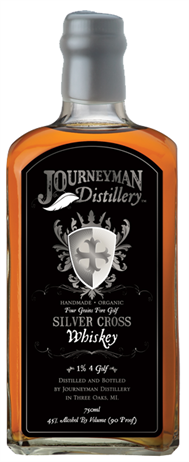 Journeyman Distillery Whiskey Silver Cross